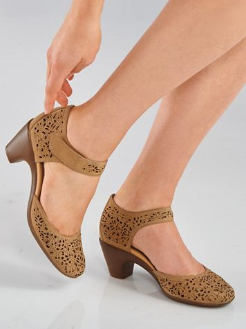 Quarter-Strap Wedges By Easy Spirit® - Image 6 of 7