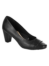 Cap-Toe Pumps By Soft Style®