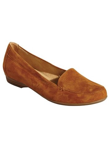 Saban Classic Suede Loafers By Naturalizer® - Image 4 of 5