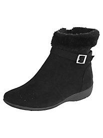 Lexi Faux Fur Trim Boots by Classique®