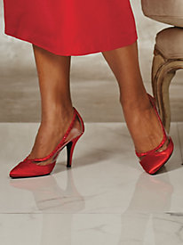 Danielle Lucite Pumps By Annie®