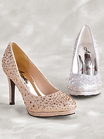 Sparkle Platform Pumps By Annie®
