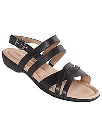 Dachshund Strappy Sandals by Hush Puppies®
