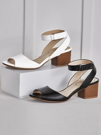 Rosetta Chunky Heel Sandals by Life Stride® - Image 1 of 3