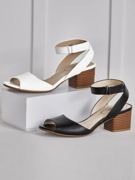 Rosetta Chunky Heel Sandals by Life Stride®