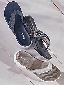 Skechers® on-the-Go 3-Point Sandals