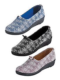 Festival Lace Slip-Ons from Flexus® by Spring Step