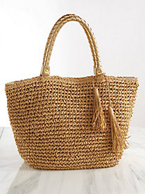 Natural Crochet Tote