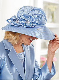 Lace Suit Hat By Regalia®