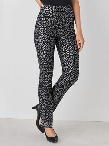 Koret® Animal Print Millennium Pants - Image 0 of 2