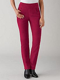 Koret® Flat Front Corduroy Pants