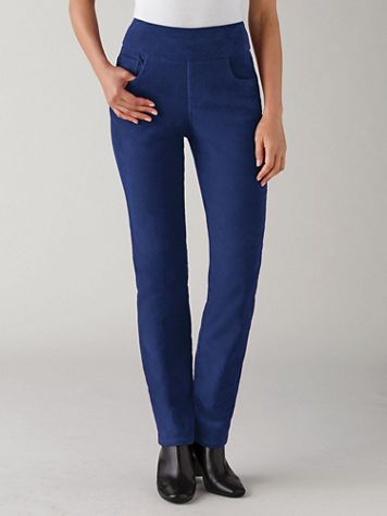 Koret® Flat Front Corduroy Pants - Image 5 of 5