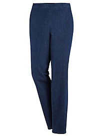 Alfred Dunner® Autumn Harvest Denim Pants