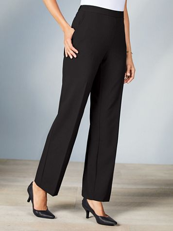 Briggs® Bi-Stretch Flat Front Pants - Image 1 of 6