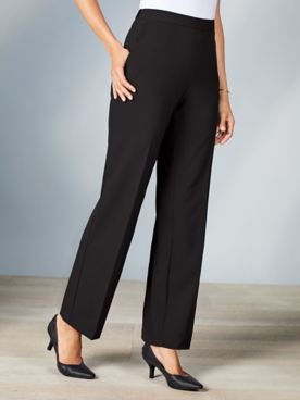 Briggs® Bi-Stretch Flat Front Pants