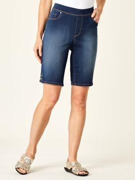 Avery Pull-On Bermuda Shorts by Gloria Vanderbilt®