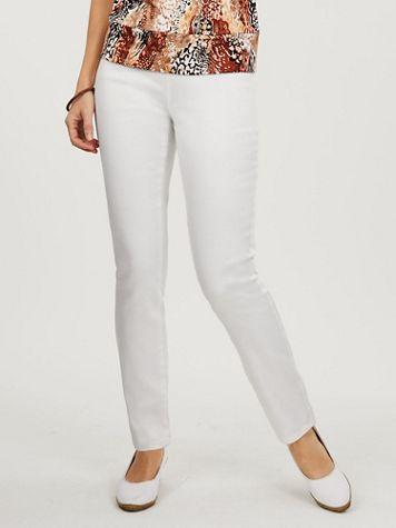 Koret® Knit Denim Slim-Leg Pants - Image 3 of 3