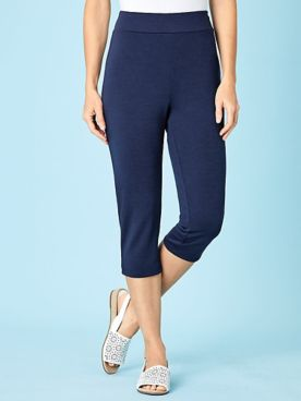 Koret® Essential Stretch Knit Capris