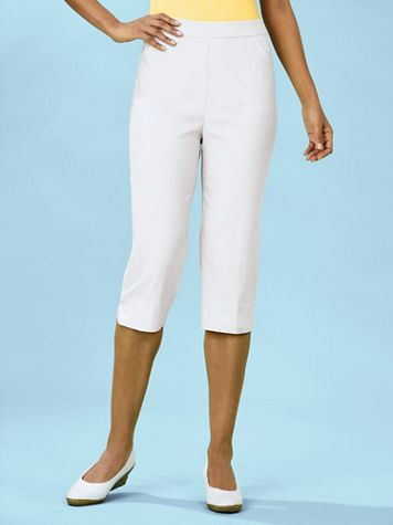Alfred Dunner® Allure Capris - Image 2 of 3