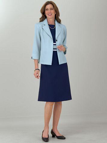 Colorblocked Jacket Dress - Image 5 of 5
