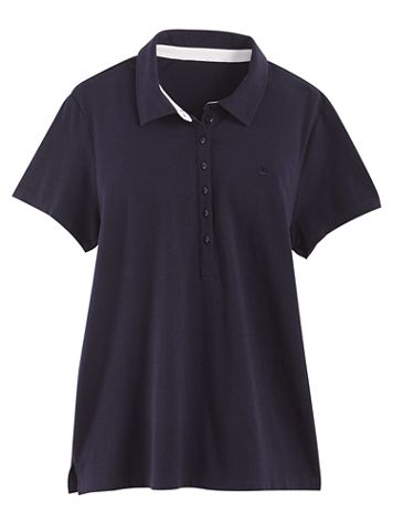 Annie Polo Tee by Gloria Vanderbilt® - Image 6 of 6