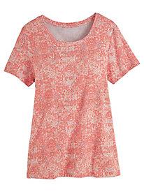 Margaret Knit Tee by Gloria Vanderbilt®