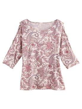 Antwerp Paisley Print Top by Emaline