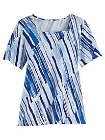 Alfred Dunner® Classic Print Tee