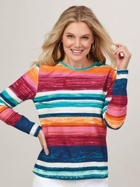 Any Day Perfect Long-Sleeve Tee