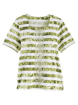 Alfred Dunner® Santa Fe Striped Top