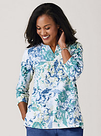 Alfred Dunner® All About Ease Floral Top