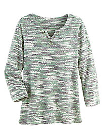 Alfred Dunner® Lake Geneva Textured Top