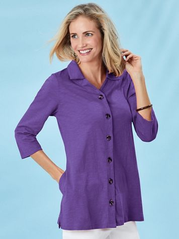 Novelty Button Tunic - Image 0 of 2