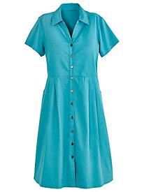 Denim Tie-Back Dress by Old Pueblo Traders