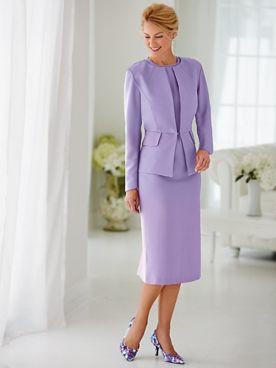 Peplum Jacket Dress