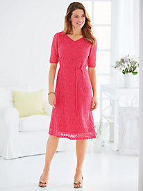 Stretch Lace Dress by Old Pueblo Traders