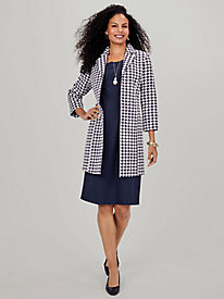 Houndstooth Jacket Dress by Old Pueblo Traders