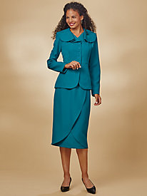 Peplum Skirt Suit