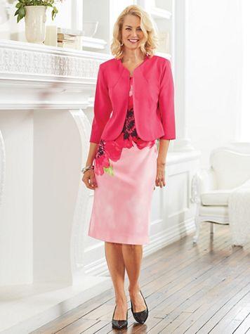 Print Jacket Dress - Image 4 of 4