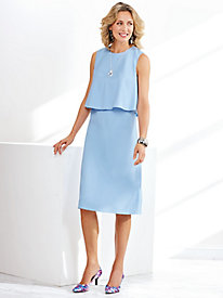 Crepe Popover Dress By Koret®