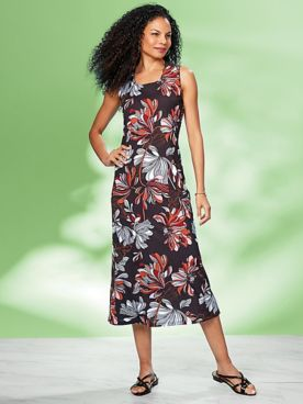 Floral Print Dress by Regalia®