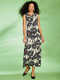 Print Maxi Dress by Regalia®