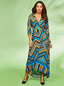 Pattern Play Maxi Dress by Regalia®