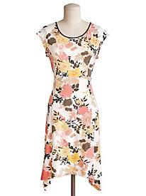 Botanical Print Dress by Emaline