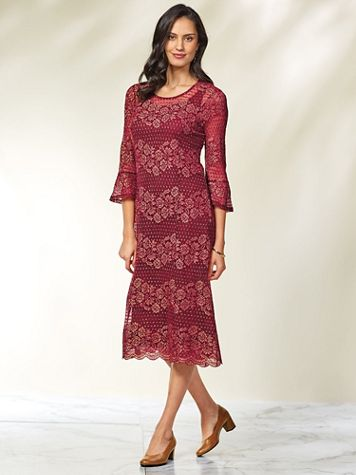 Lace Dress by Isabel Hayley