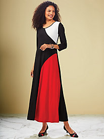 Colorblock Maxi Dress by Regalia® by Old Pueblo Traders