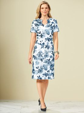 Floral Print Dress By Koret®