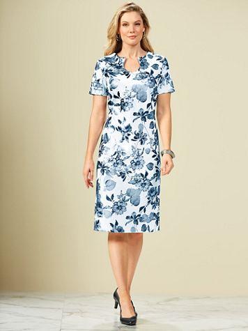 Floral Print Dress By Koret® - Image 3 of 3