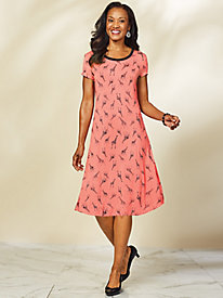 Guadalupe Giraffe Print Dress by Emaline