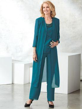 Embellished Pants Set